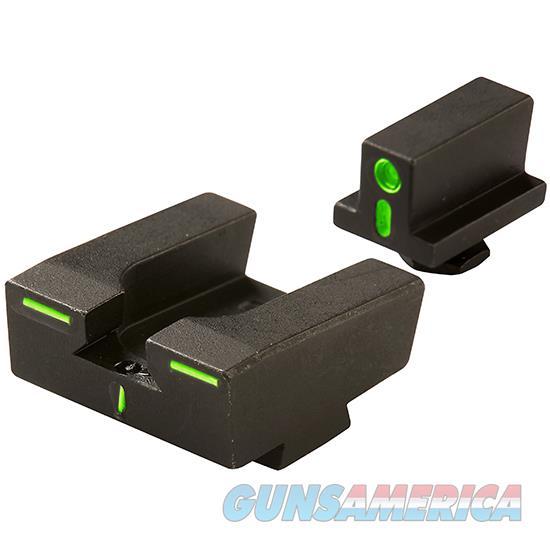 Mako Group Meprolight Grn Night Sights Glock R4e Fam Set ML12224  Non-Guns > Iron/Metal/Peep Sights