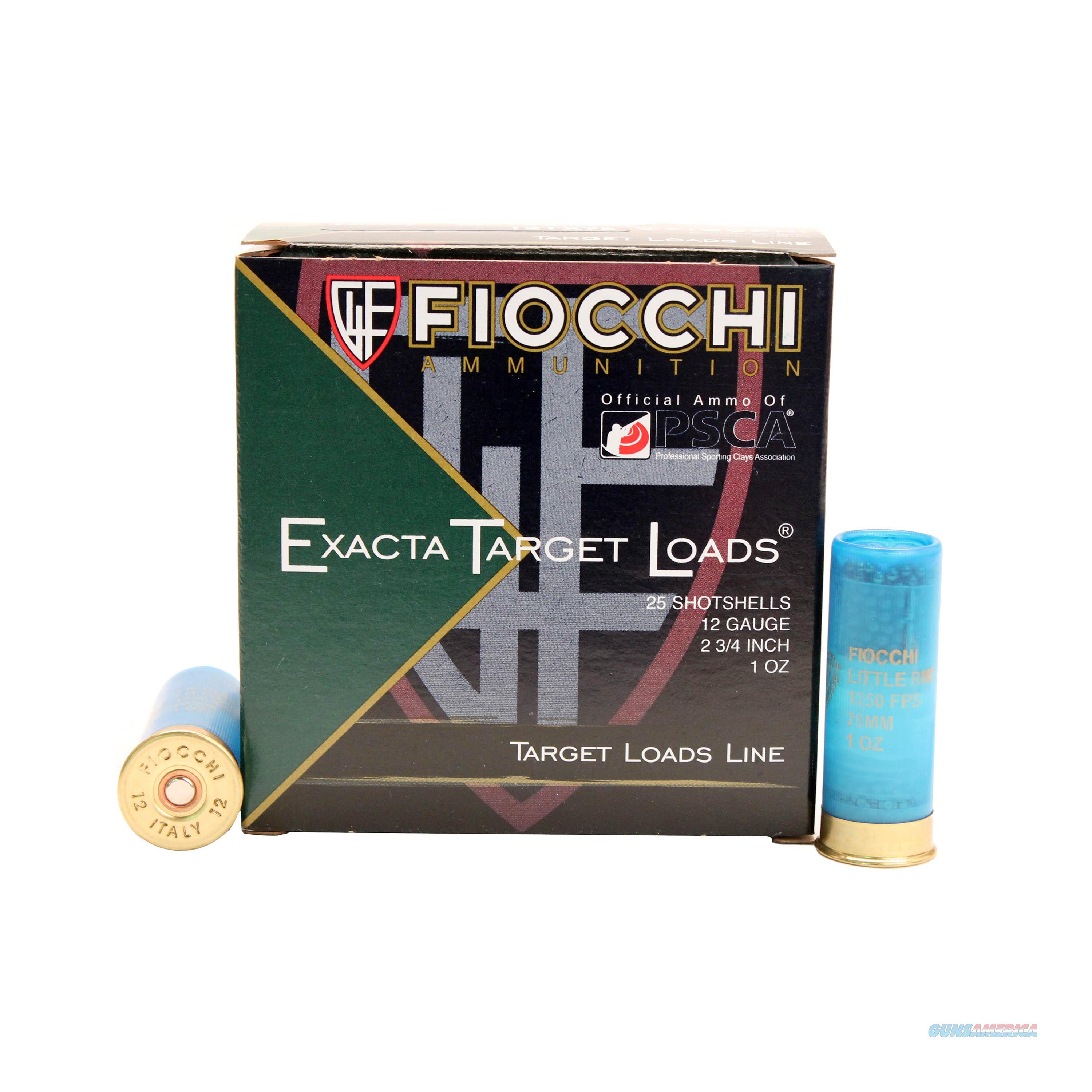 Fiocchi Exacta Little Rhino 12 Gague 12TX75  Non-Guns > Ammunition