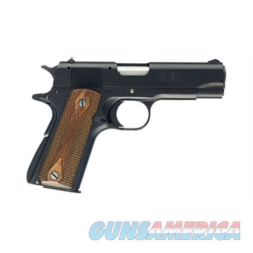 "Browning 051803490 1911-22 Compact Single 22 Long Rifle (Lr) 3.625"" 10+1 Brown Polymer Grip Black Aluminum Alloy 051803490  Guns > Pistols > B Misc Pistols"