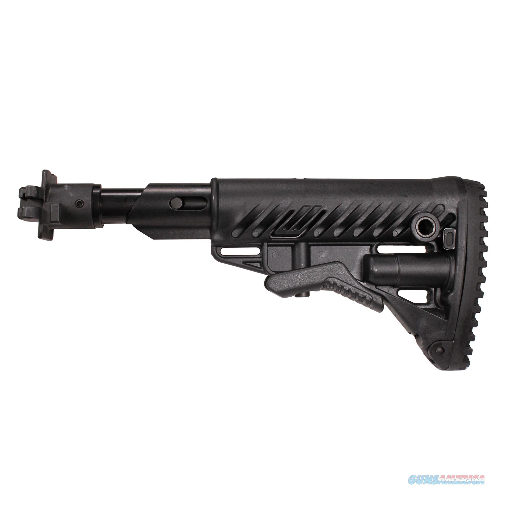 Mako Group M4 Collapsible Shock Absorbing Buttstock, Vepr 12 Molot, Black M4VEPR-FKSB-B  Non-Guns > Gunstocks, Grips & Wood