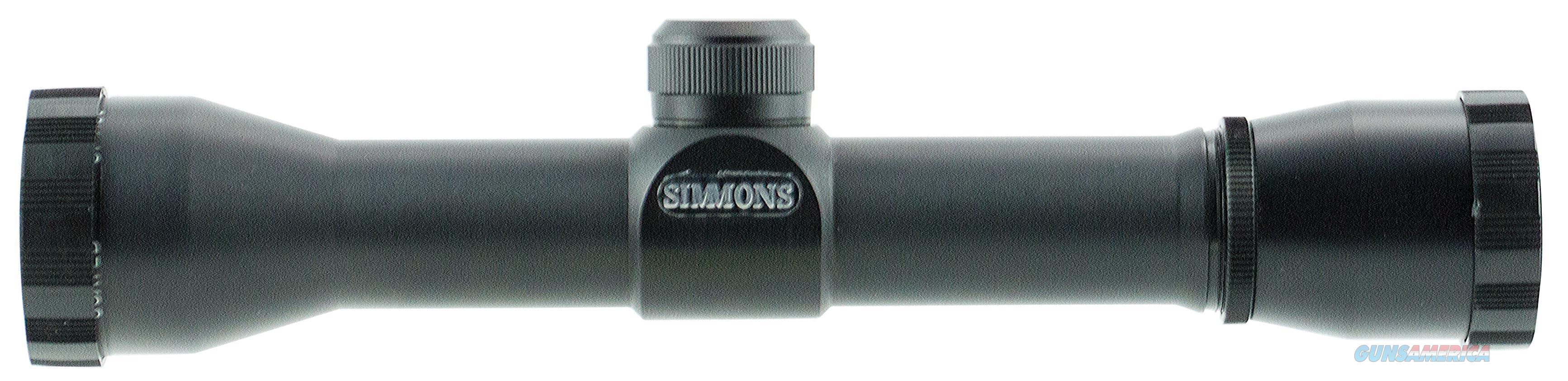 "Simmons 807738 Pro Hunter 4X 32Mm Obj 15 Ft @ 100 Yds Fov 1"" Tube Black Matte Truplex 807738  Non-Guns > Scopes/Mounts/Rings & Optics > Rifle Scopes > Variable Focal Length"