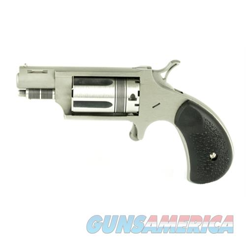 """Naa 22Msctw 22 Magnum Wasp Single 22 Winchester Magnum Rimfire (Wmr) 1.13"""" 5 Black Rubber Stainless NAA-22MSC-TW  Guns > Pistols > North American Arms Pistols"""