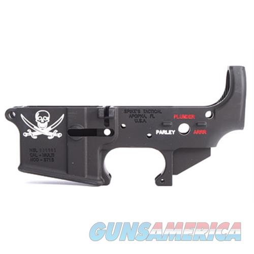 Spikes Tactical Spike's Stripped Lower(Calico Jack) STLS016-CFA  Guns > Rifles > S Misc Rifles