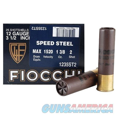 Fiocchi Speed Steel 12 Gauge 1235ST2  Non-Guns > Ammunition