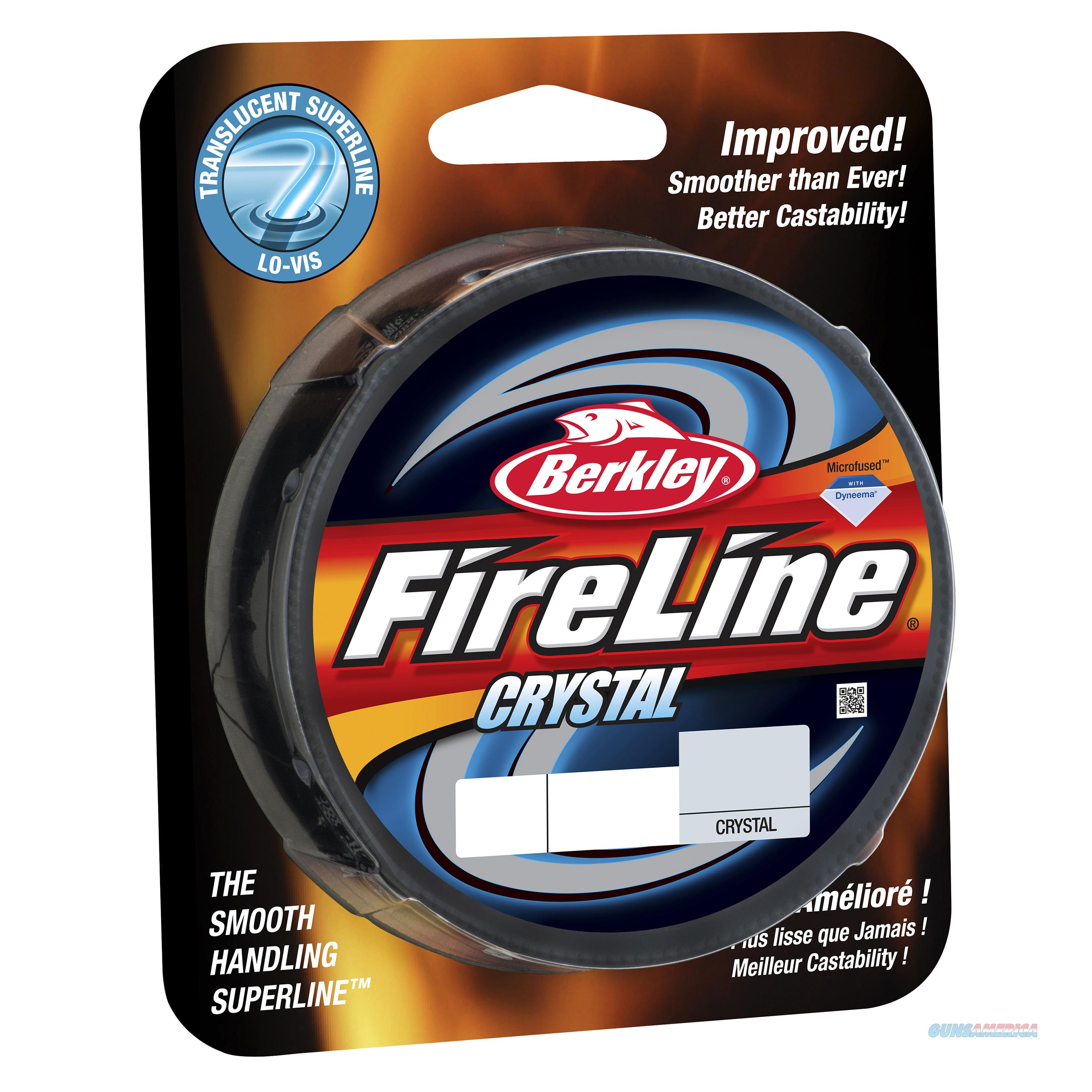 Berkley Fishing Products Fireline Fused  Superline Crystal Line Spool FL150010-CY  Non-Guns > Fishing/Spearfishing