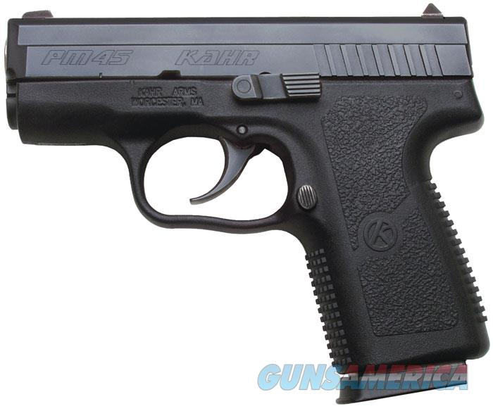 Kahr Pm45 45Acp S-S Blk PM4544  Guns > Pistols > K Misc Pistols