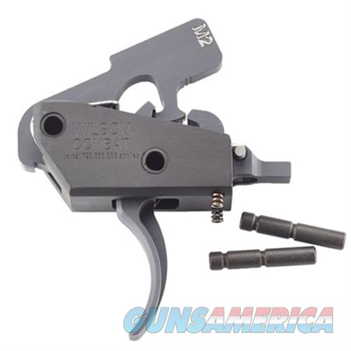 Wilson Combat Trttum2 Tactical Trigger Unit Two-Stage Steel Black TRTTUM2  Non-Guns > Gun Parts > Misc > Rifles