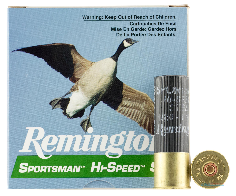 "Remington Ammo Hi-Speed Steel 25-Pk 12Ga. 3"" 1550Fps. 1-1/8Oz. #4 SSTHV12H4  Non-Guns > Ammunition"