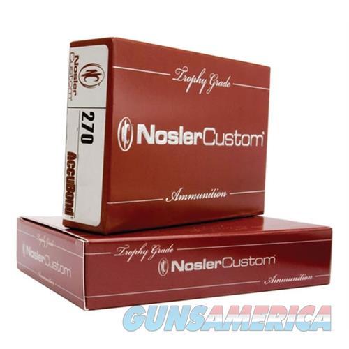 Nosler 270Wsm 140Gr Ab 20/200 054041600309  Non-Guns > Ammunition