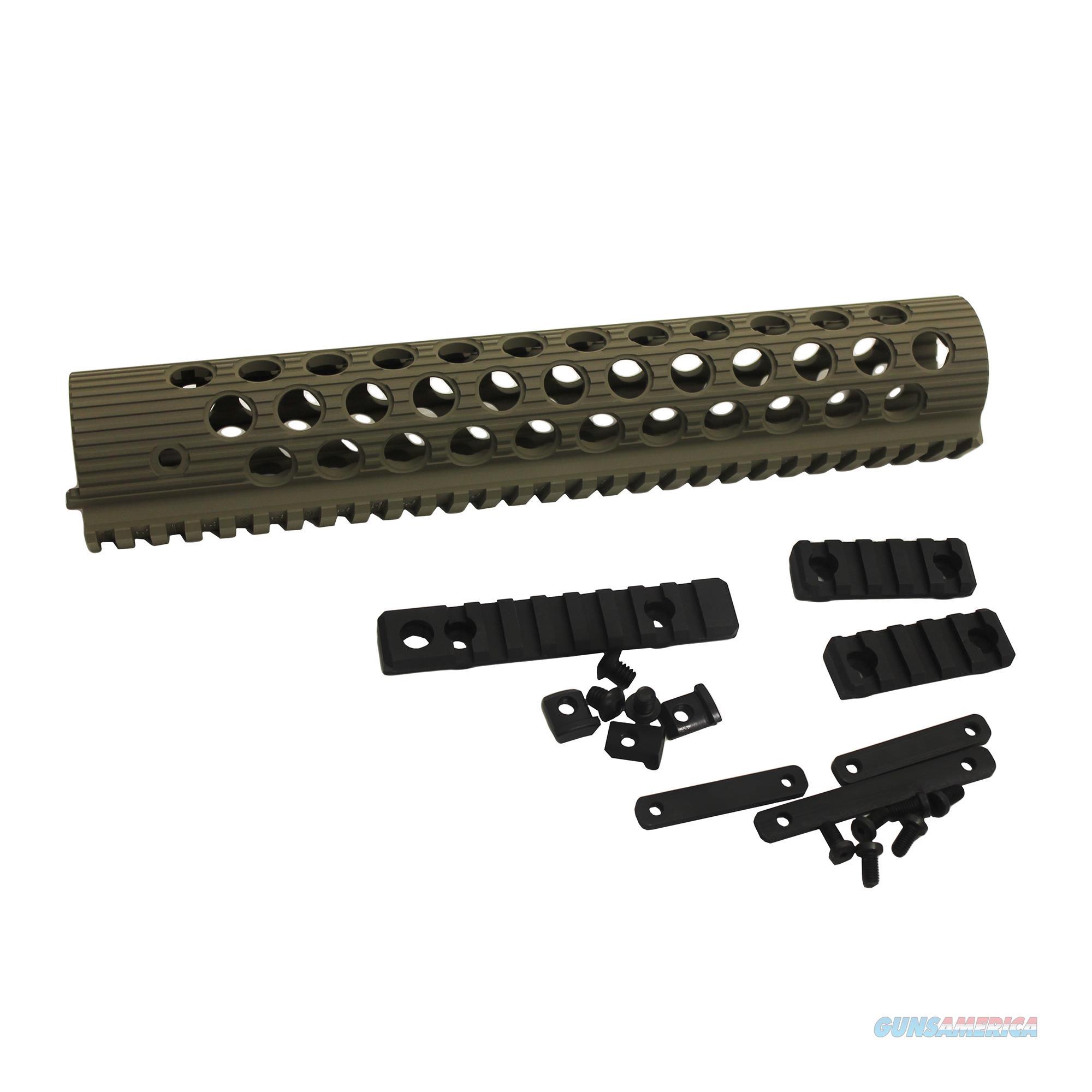 Troy Industries Inc Alpha Rail Flat Dark Earth STRX-AL1-11FT-01  Non-Guns > Gunstocks, Grips & Wood