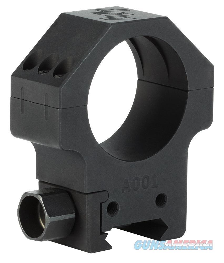 Sig Sauer Electro-Optics Soa10001 Alpha Tactical Ring Set 30Mm Dia High Aluminum Black Matte Anodized SOA10001  Non-Guns > Scopes/Mounts/Rings & Optics > Mounts > Other