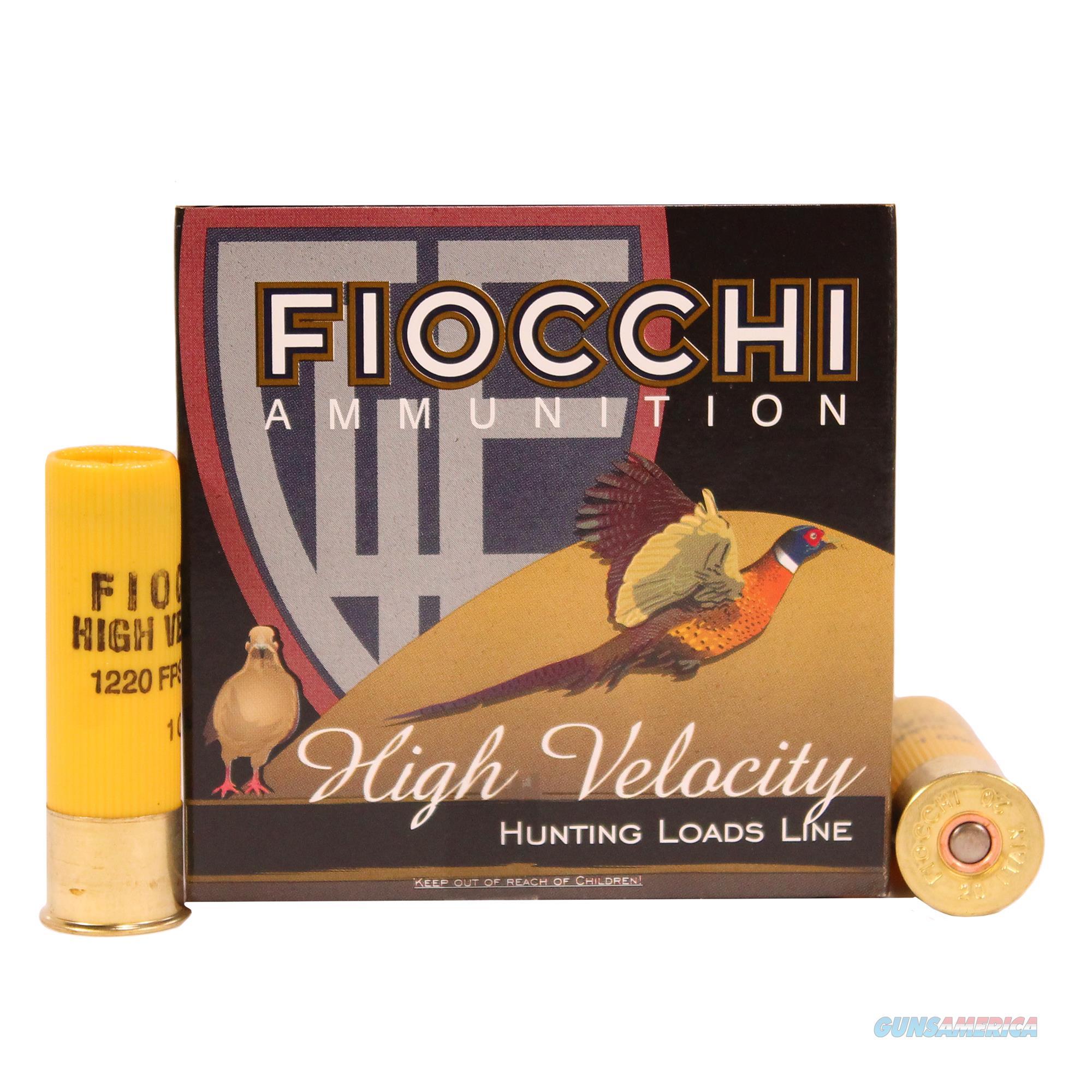 Fiocchi Lead 20 Gauge 20HV6  Non-Guns > Ammunition