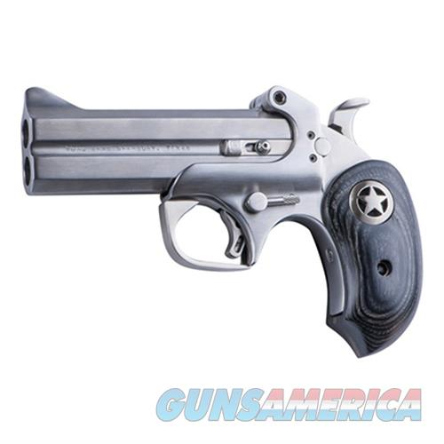 "Bond Arms Barii Ranger Bar Ii Derringer Single 45 Colt (Lc)/410 Gauge 4.25"" 2 Round Black Ash Wood/Star Grips Stainless BARII45410  Guns > Pistols > B Misc Pistols"