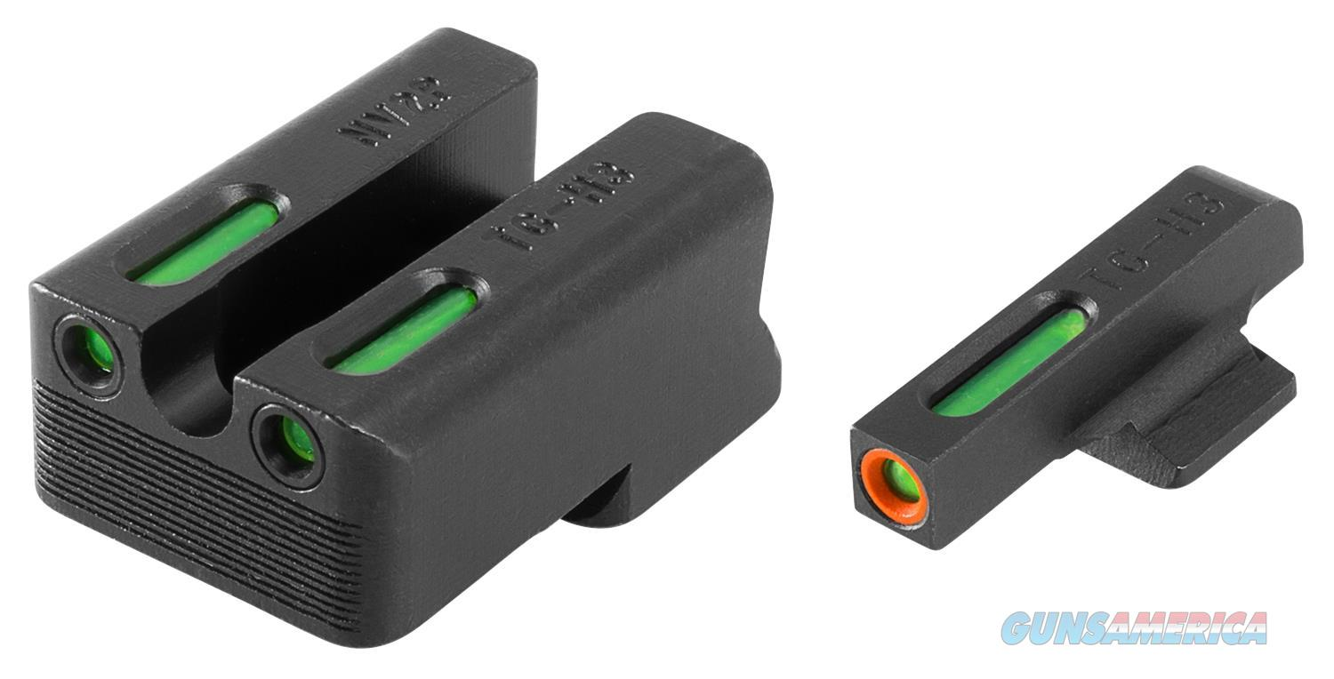 Truglo Tg13nv3pc Tfx Day/Night Sights Novak 260/500  Green W/Orange Outline Front Green Rear Black TG13NV3PC  Non-Guns > Gun Parts > Misc > Rifles