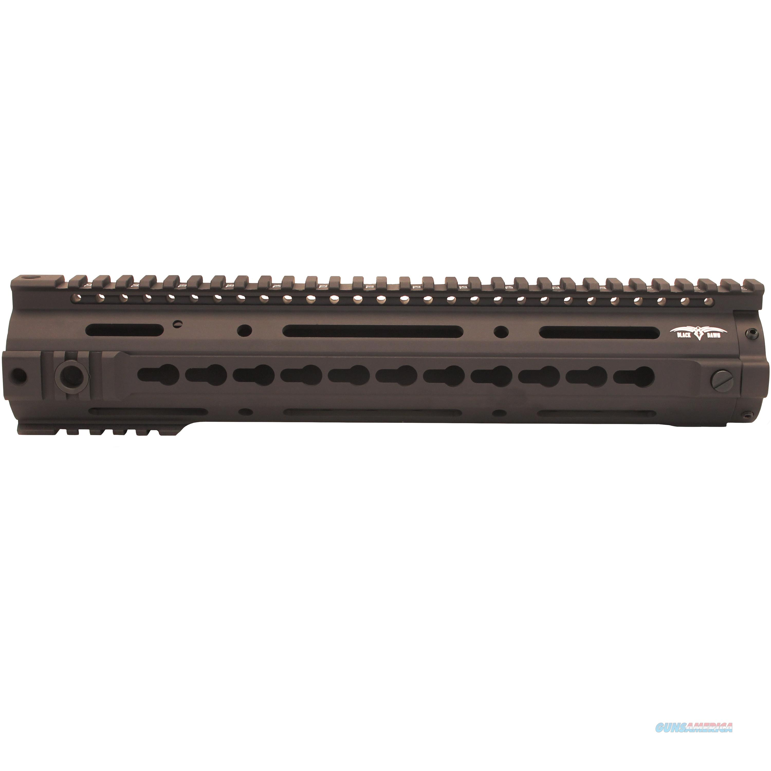 "Black Dawn 12"" Bd10 Keymod Rail BD-10-KMRR-BLK  Non-Guns > Gun Parts > Misc > Rifles"