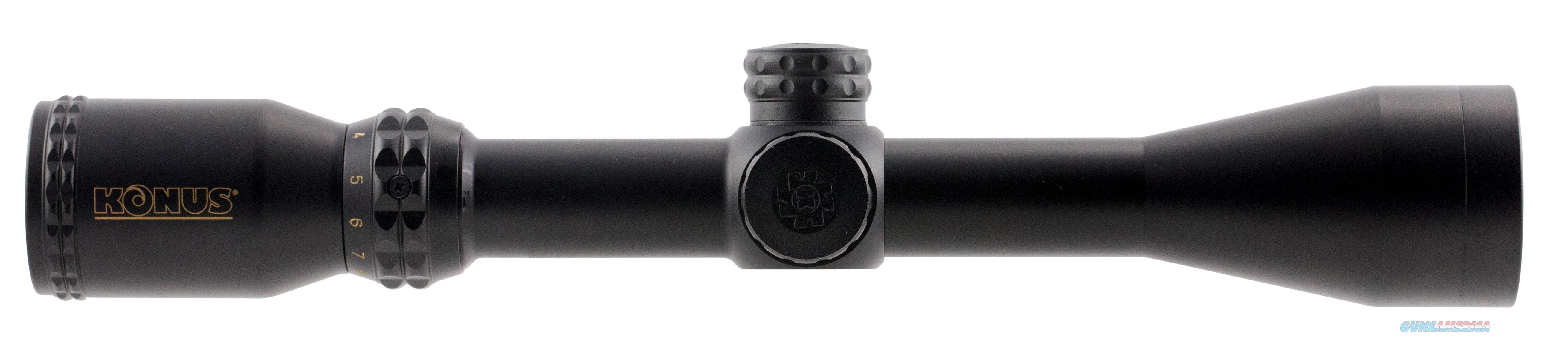 "Konus 7276 Konuspro 3-9X 40Mm Obj 37-12.3 Ft @ 100 Yds Fov 1"" Tube Black Matte Dual Illuminated Engraved Ballistic 550 7276  Non-Guns > Scopes/Mounts/Rings & Optics > Mounts > Other"