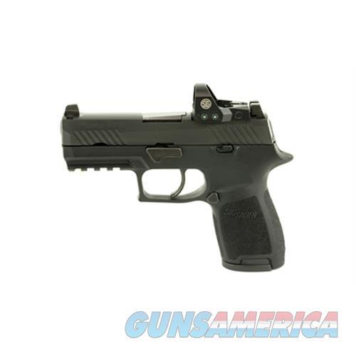 """Sig P320c 9Mm 3.9"""" 10Rd Bl Romeo1 Ns 320C-9-BSS-RX-10  Guns > Pistols > S Misc Pistols"""