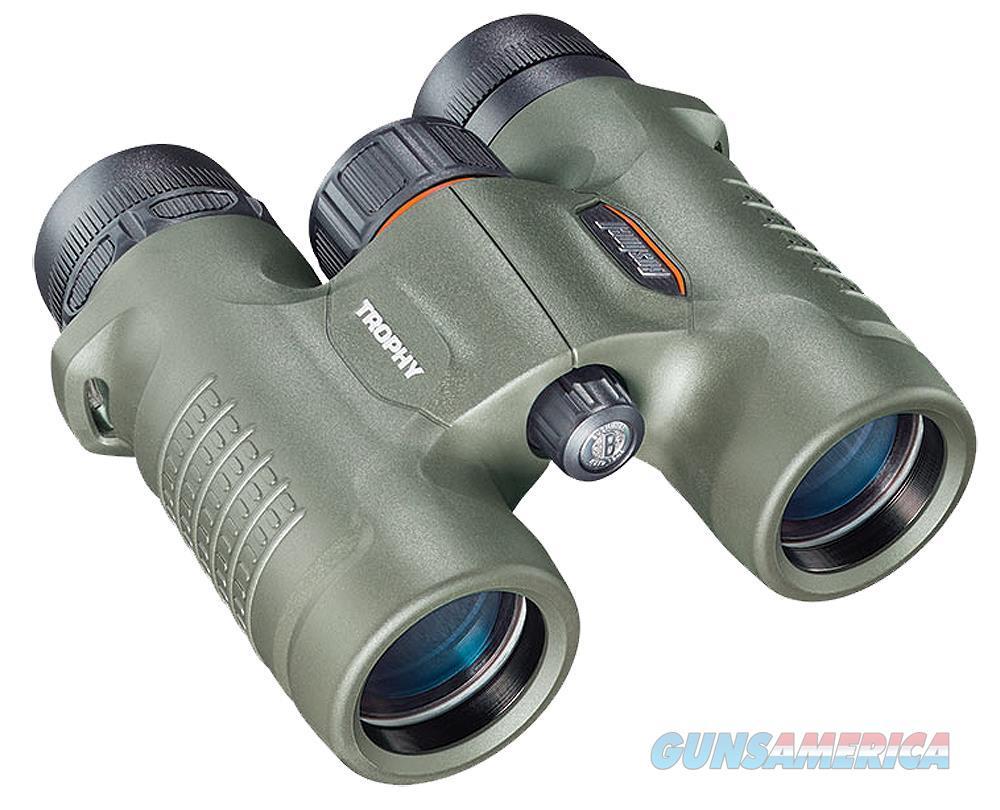 Bushnell 333208 Trophy 8X 32Mm 393 Ft @ 1000 Yds Fov 16.5Mm Eye Relief Green Rubber Armor 333208  Non-Guns > Scopes/Mounts/Rings & Optics > Non-Scope Optics > Binoculars
