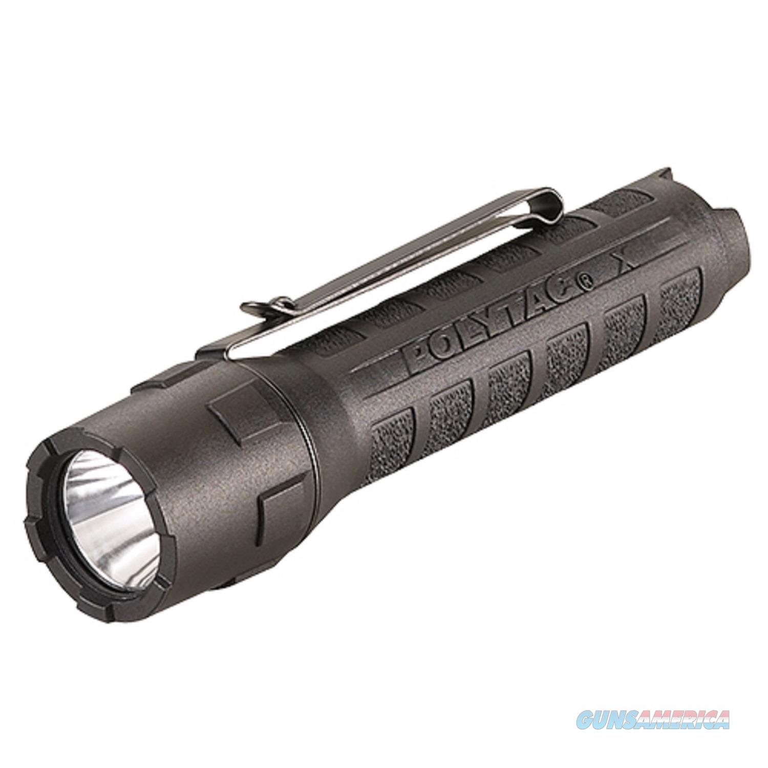 Streamlight Polytac X Usb Flashlight W/Usb Battery Black 88610  Non-Guns > Gun Parts > Misc > Rifles