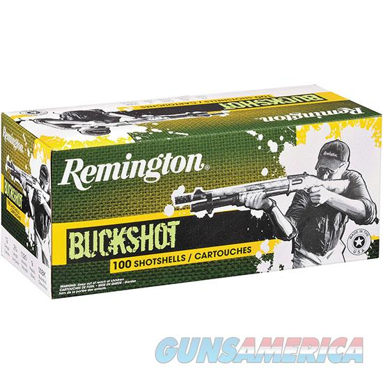 Remington Buckshot 12Ga 2.75 9P #00 100/2 12B00B  Non-Guns > Ammunition