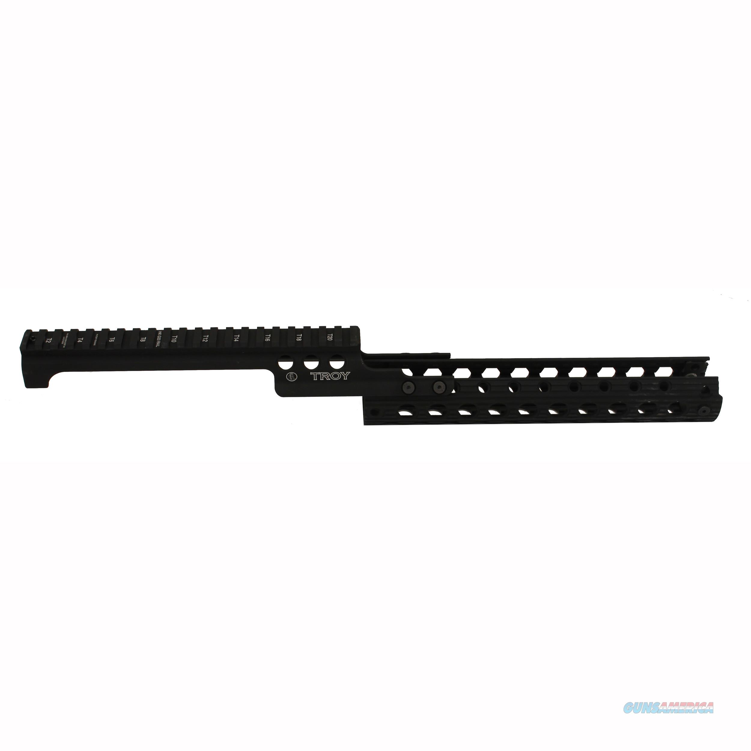 Troy Industries Inc G33 Rail Black SRAI-G33-0KBT-00  Non-Guns > Gun Parts > Misc > Rifles