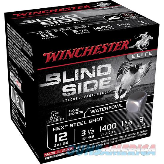 Winchester 12Ga 3.5 #3 Blind 1 5/8Oz Lead Free 25/10 SBS12L3  Non-Guns > Ammunition