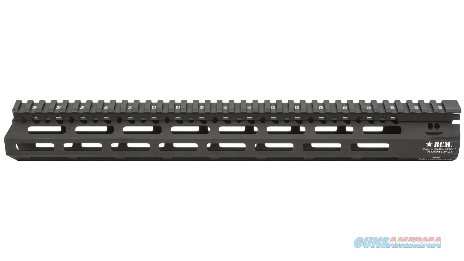 "Bravo Company Usa Mcmr 15"" M-Lok Rail BCM-MMR-15-556-BLK  Non-Guns > Gun Parts > Tactical Rails (Non-AR)"
