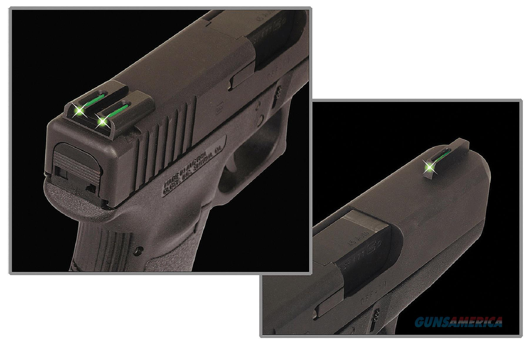 Truglo Tg131st2y Brite-Site Tfo Sig Sauer Tritium/Fiber Optic Green Front Yellow Rear Black TG131ST2Y  Non-Guns > Iron/Metal/Peep Sights