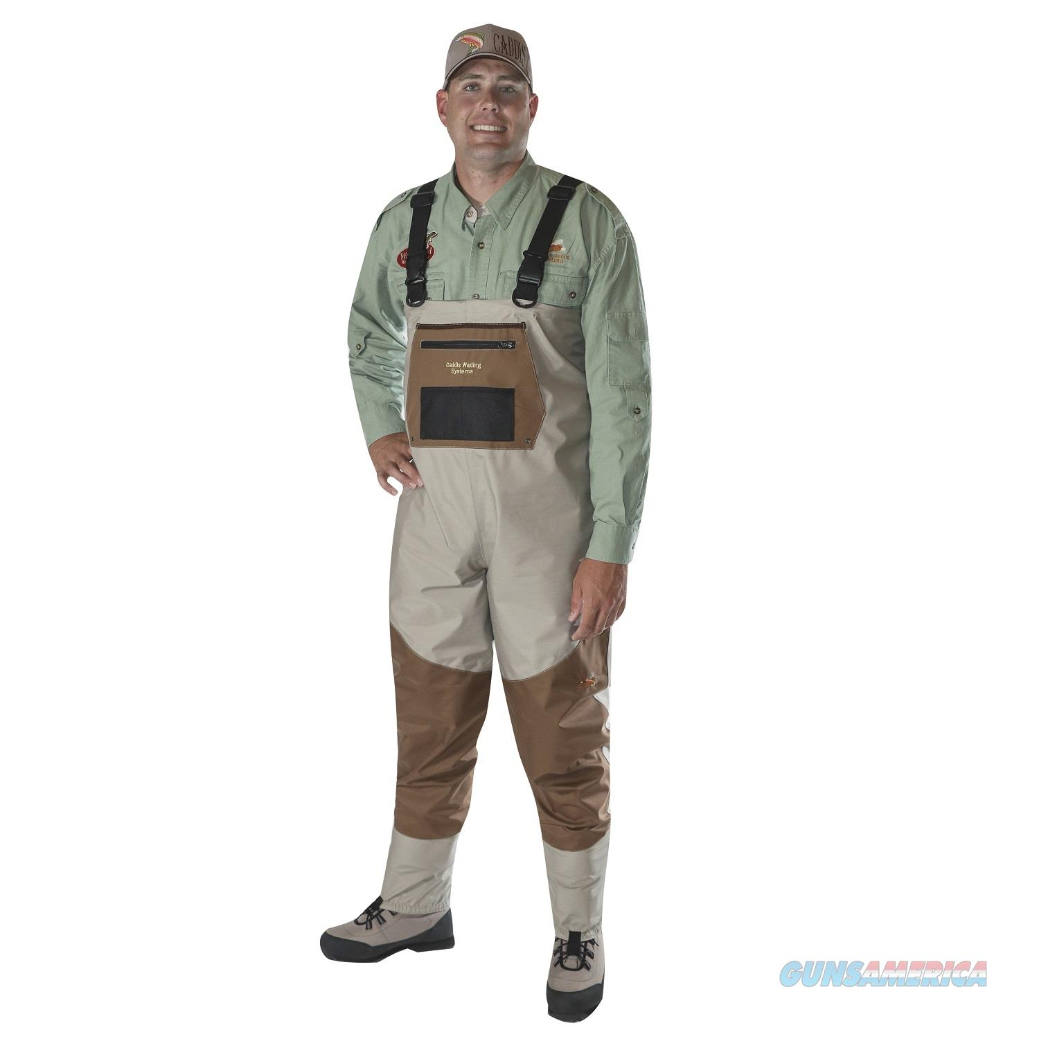 Caddis Men's Deluxe Breathable Stockingfoot Waders - M Stout CA12902WMS  Non-Guns > Fishing/Spearfishing
