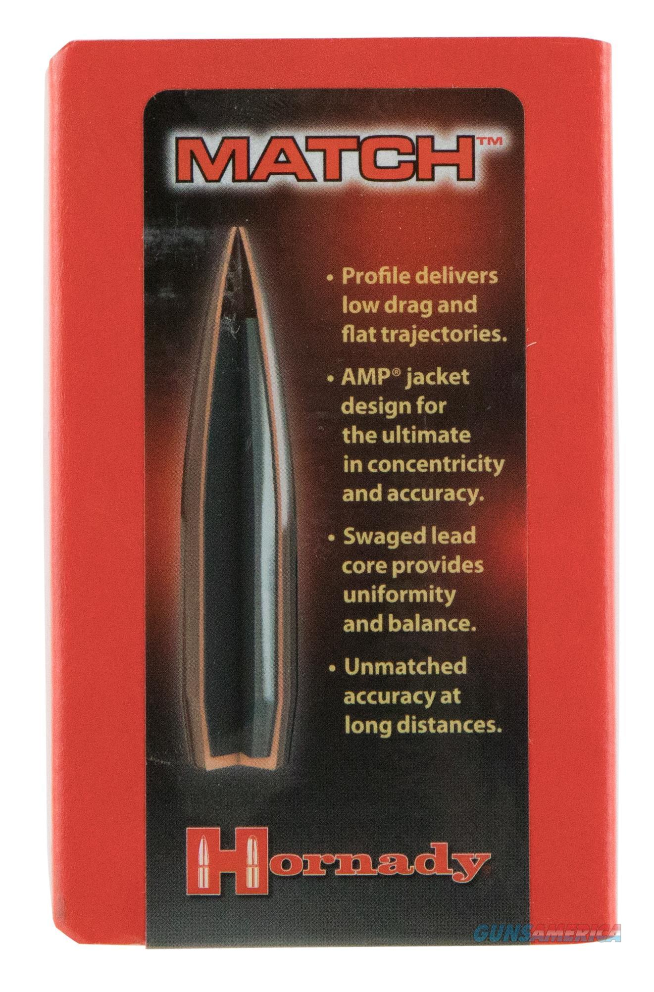 Hornady 305015 Match 308 Win/7.62 Nato 168 Gr 500 Per Box 305015  Non-Guns > Reloading > Components > Bullets