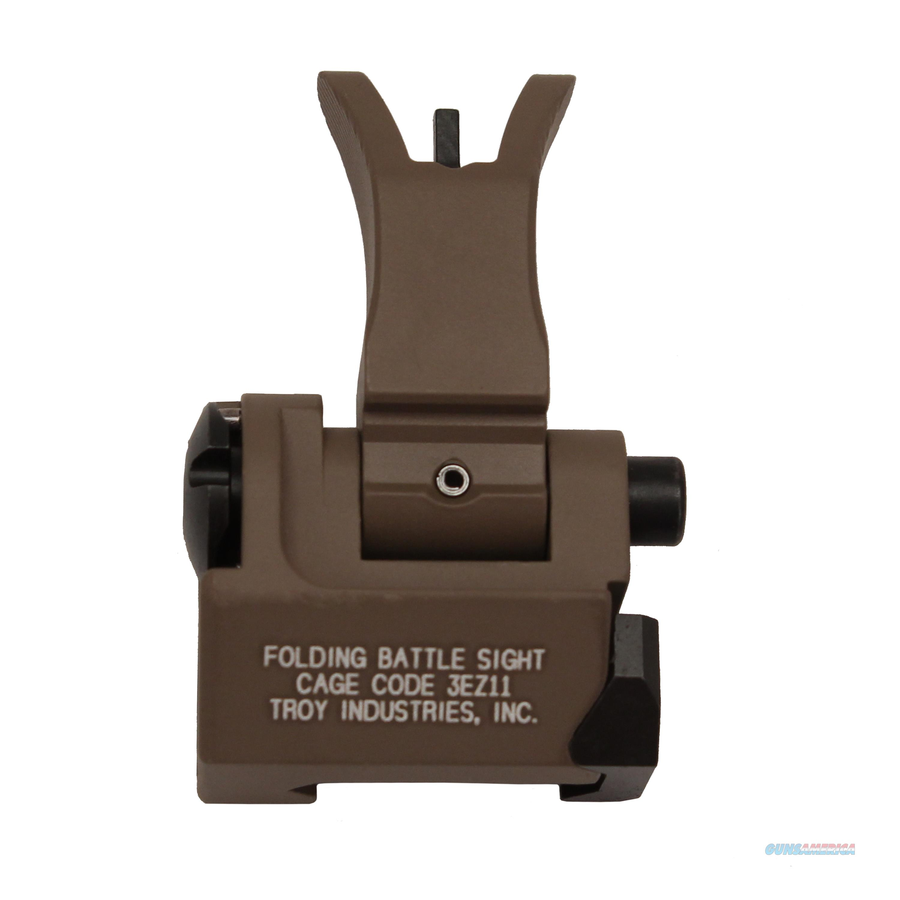 Troy Industries Inc Front Folding Style M4 Sight SSIG-FBS-FMFT-00  Non-Guns > Iron/Metal/Peep Sights