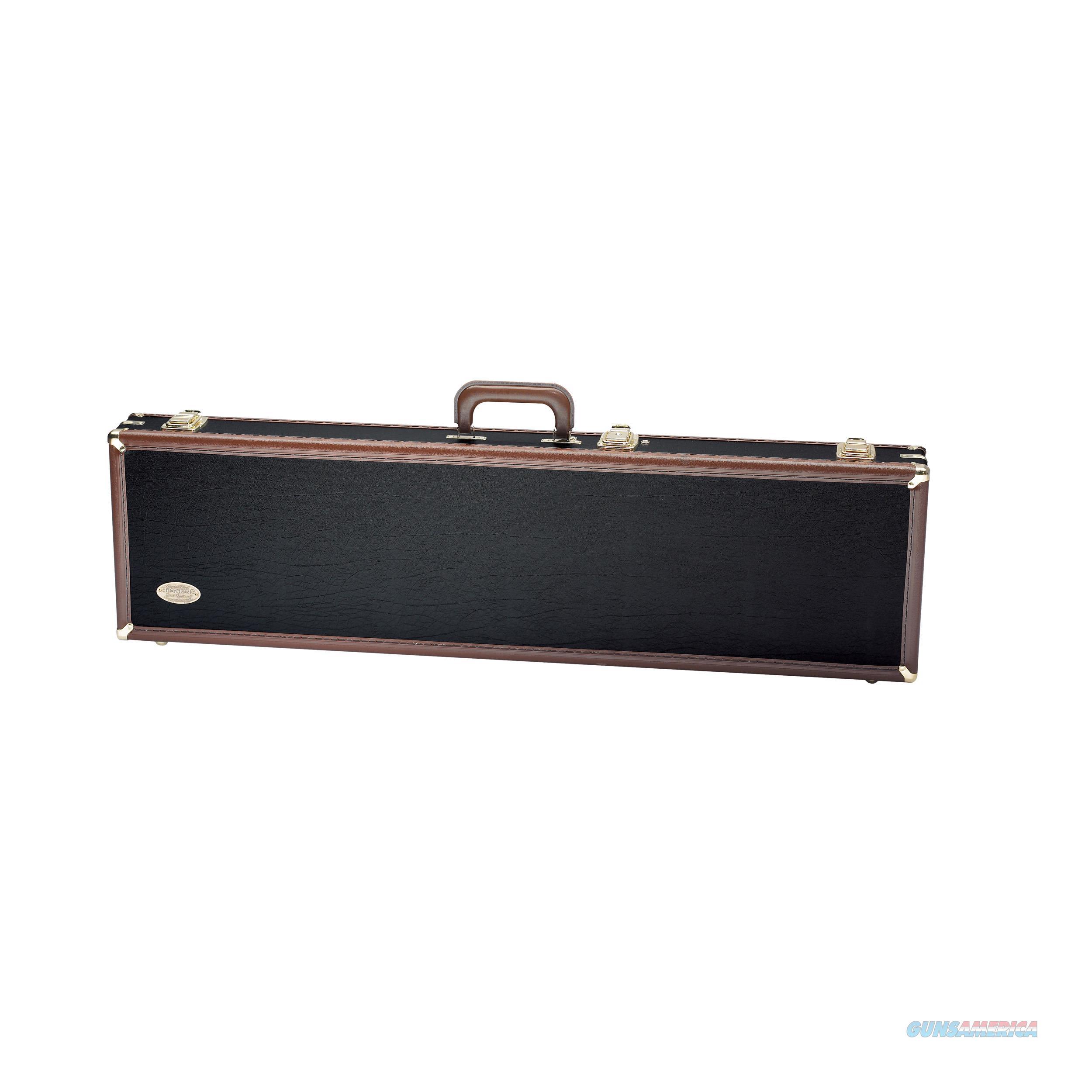 "Browning Luggage Case O/U & Bt To 34"" Bbls. Vinyl Black/Tan 1428119408  Non-Guns > Gun Parts > Misc > Rifles"