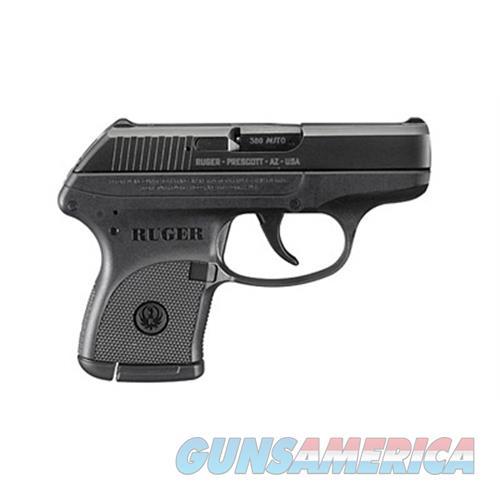 "Ruger 3701 Lcp Standard  380 Automatic Colt Pistol (Acp) Double 2.75"" 6+1 Black Polymer Grip/Frame Blued Slide 3701  Guns > Pistols > R Misc Pistols"