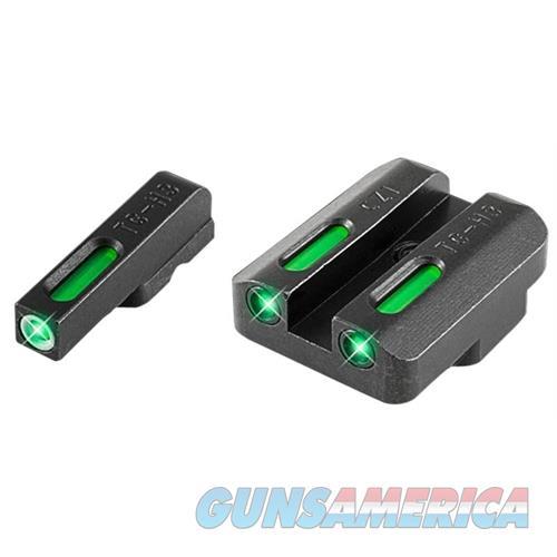 Truglo Tg13cz1a Tfx Day/Night Sights Cz 75 Tritium/Fiber Optic Green W/White Outline Front Green Rear Black TG13CZ1A  Non-Guns > Iron/Metal/Peep Sights
