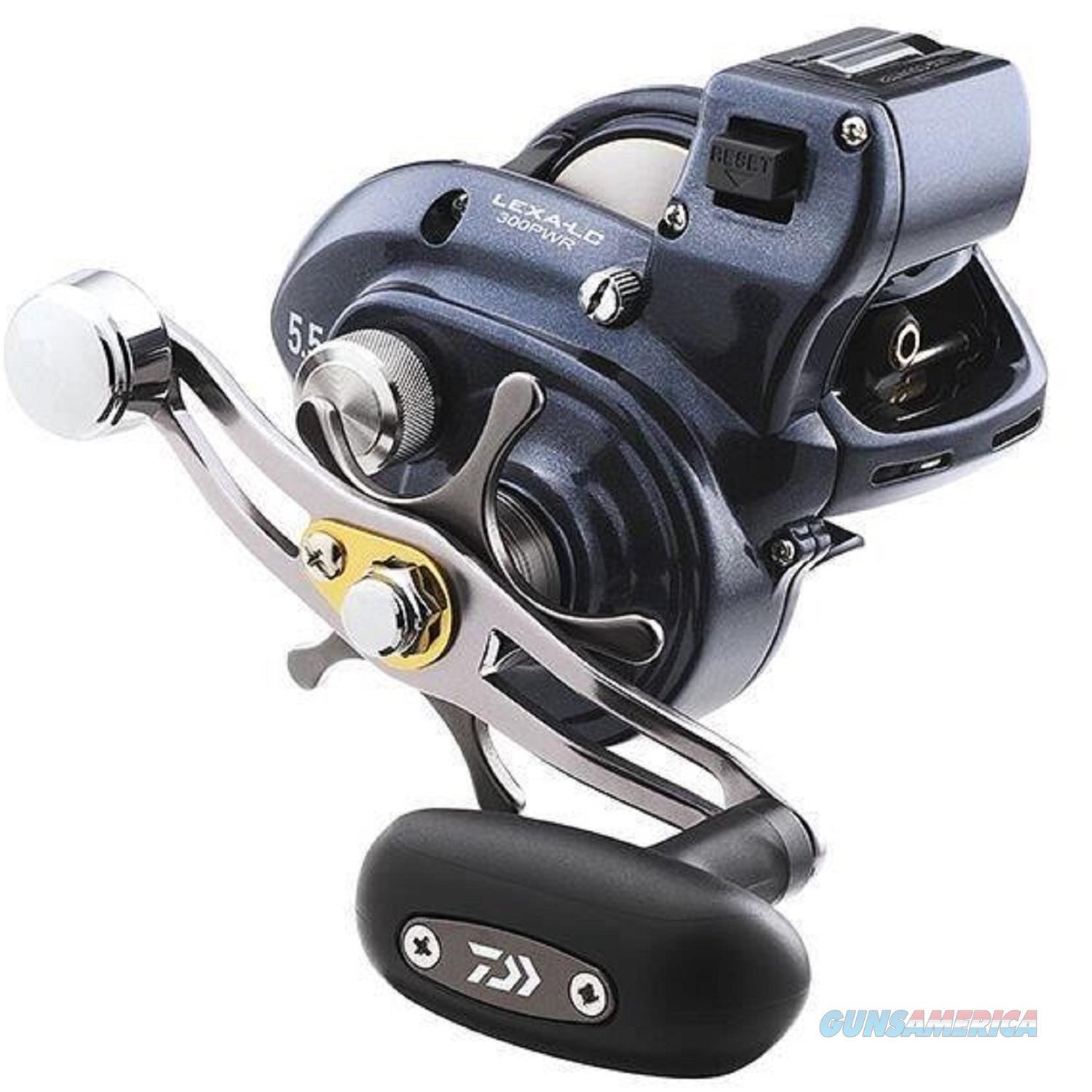 Daiwa Lexa 300 Line Counter Baitcasting Reel LEXA-LC300H  Non-Guns > Fishing/Spearfishing