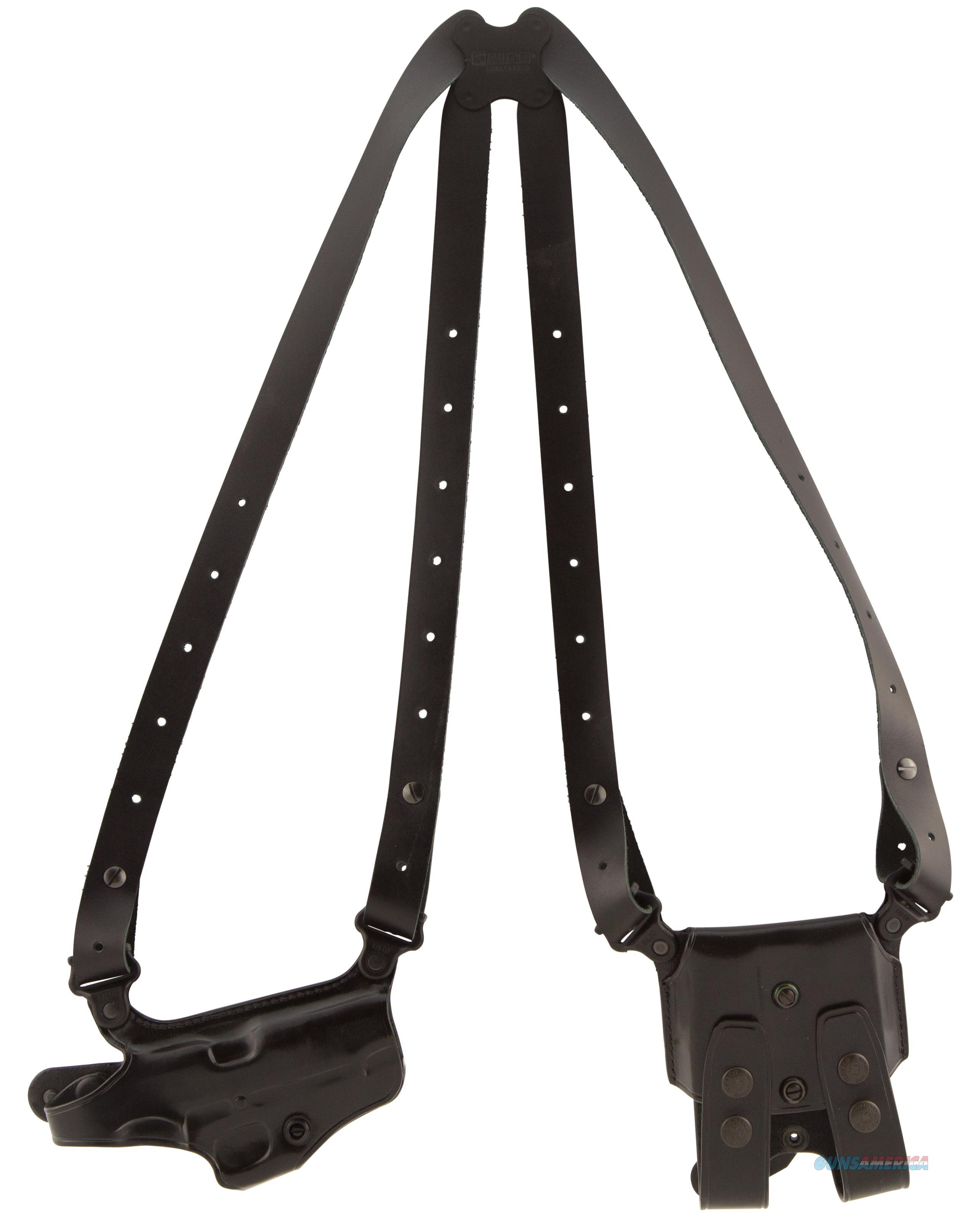 "Galco Mc212b Miami Classic Shoulder Holster System Fits Chest Up To 52"" 1911 Steerhide Black MC212B  Non-Guns > Holsters and Gunleather > Other"