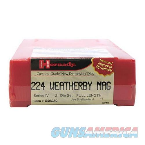 Hornady Custom Grade Series Iv New Dimension 2-Die Set 546230  Non-Guns > Reloading > Components > Brass