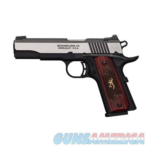 Browning Brown 1911-380 Bl Med Pro Fs 3Dt 380 051912492  Guns > Pistols > B Misc Pistols