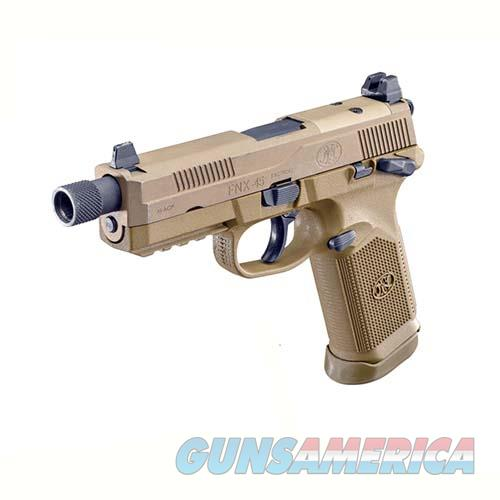 "Fn Manufacturing Fnx-45 Tactical .45 Acp, 4.50"" Barrel, 10 Rounds, Flat Dark Earth 66982  Guns > Pistols > F Misc Pistols"