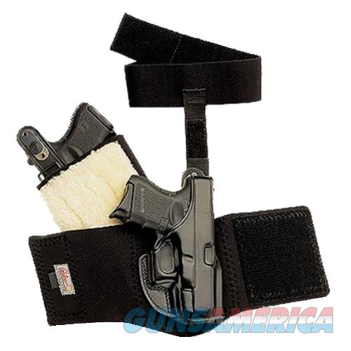 "Galco Ag158b Ankle Glove Holster Fits Ankles Up To 13"" S&W J Frame Hammered/Hammerless Steerhide Black AG158  Non-Guns > Holsters and Gunleather > Other"