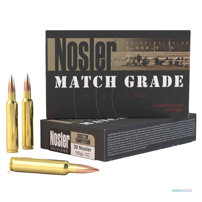 Nosler 30 Nosler 60029  Non-Guns > Ammunition