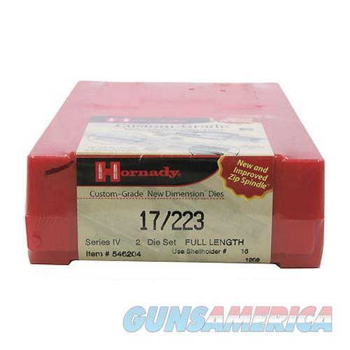 Hornady Custom Grade Series Iv New Dimension 2-Die Set 546204  Non-Guns > Reloading > Components > Brass