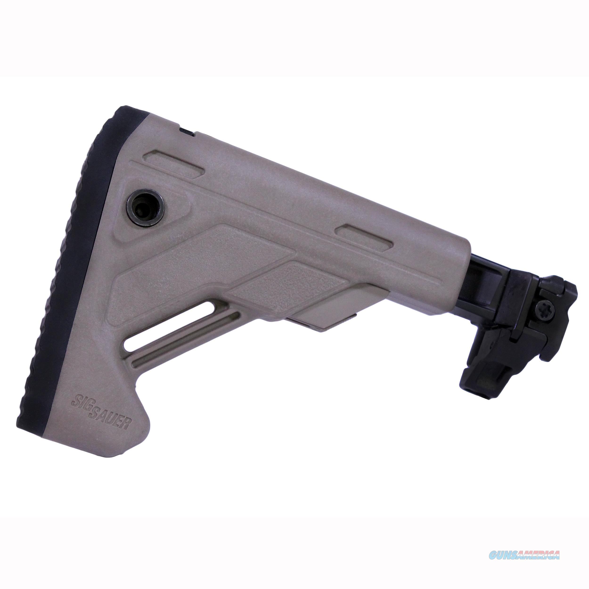 Sig Sauer Mcx/Mpx Stock STOCK-X-FOLD-TELE-FDE  Non-Guns > Gun Parts > Misc > Rifles