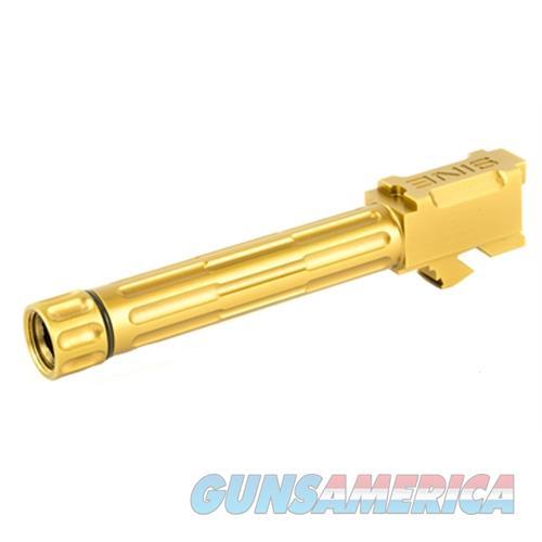Lantac Usa G19 Fluted Threaded Bronze 01-GB-G19-TH-BRNZ  Non-Guns > Gun Parts > Misc > Rifles