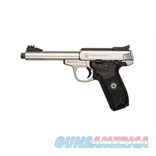 "Smith & Wesson 10201 Sw22 Victory  22 Long Rifle (Lr) Single 5.5"" 10+1 Black Polymer Grip Stainless Steel 10201  Guns > Pistols > S Misc Pistols"