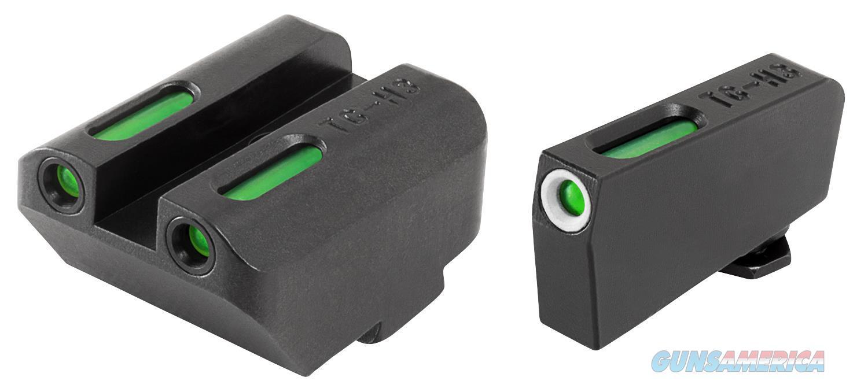 Truglo Tg13gl5a Tfx Day/Night Sights High Set Glock 17/19/22/23/24/26/27/33/34/35/37/38/39 Tritium/Fiber Optic Green Tritium W/Orange Outline Front Green Rear Black TG13GL5A  Non-Guns > Iron/Metal/Peep Sights