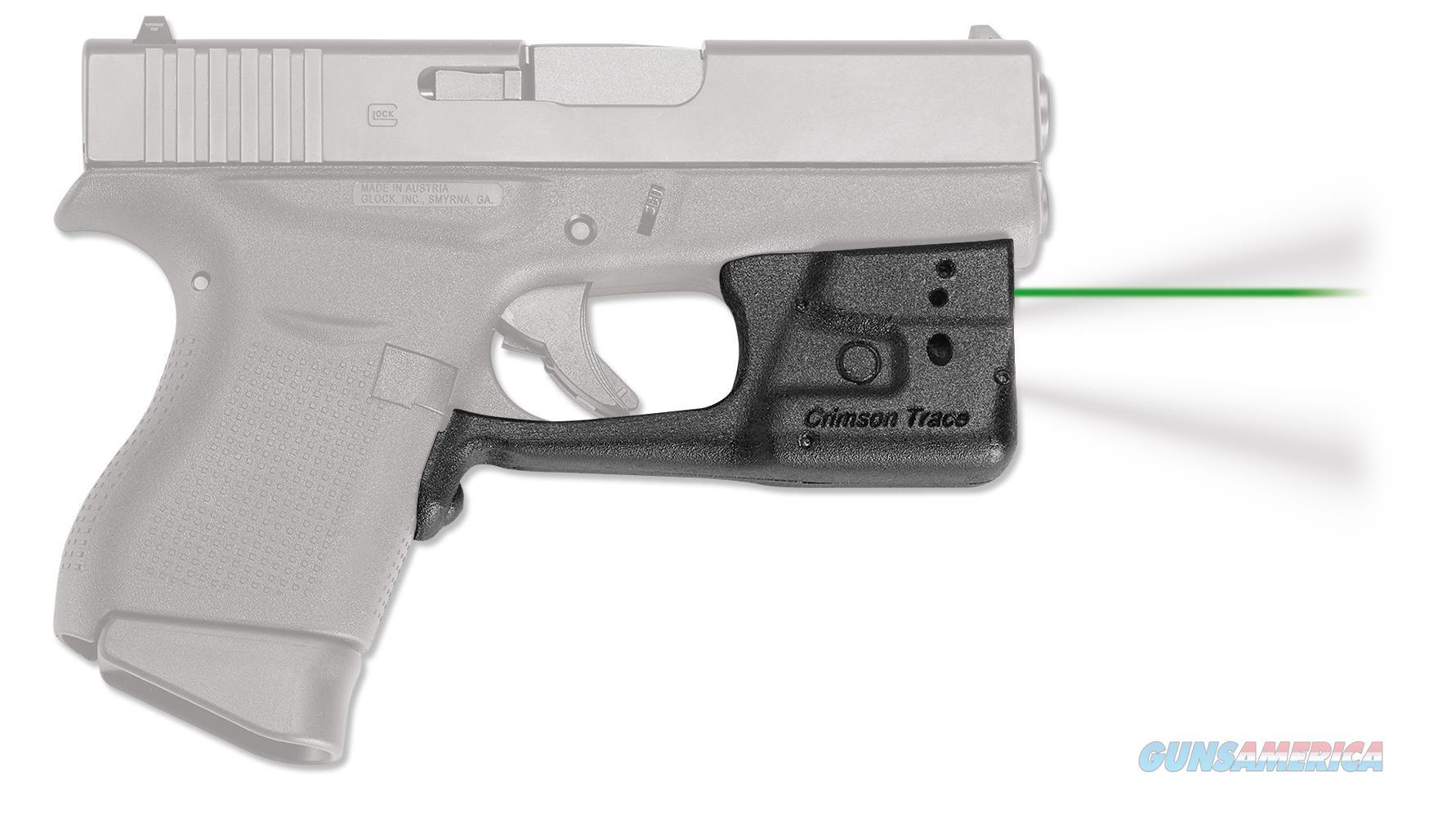 Crimson Trace Ll803ghbt Laserguard Pro Glock 42/43 With 43 Holster Green Laser Trigger Guard LL803GHBT  Non-Guns > Iron/Metal/Peep Sights