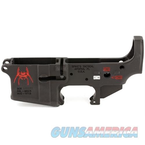 Spikes Tactical Spike's Stripped Lower (Spider) STLS019-CFA  Guns > Rifles > S Misc Rifles