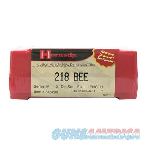 Hornady Custom Grade Series Iv New Dimension 2-Die Set 546206  Non-Guns > Reloading > Components > Brass