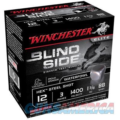 Winchester Ammo Blind Side 12Ga 3'' #Bb 1-3/8Oz 100/Bx SBS123BBVP  Non-Guns > Ammunition